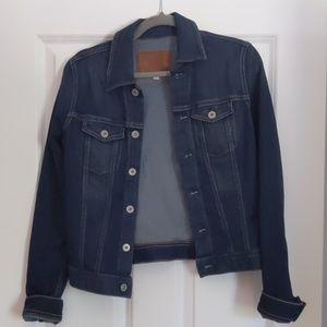 "AG dark jean jacket ""The Robyn"""
